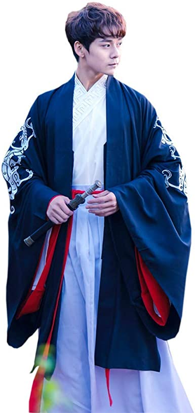 Susichou - Ropa China Mejorada, Batas, Bordado Tradicional, Collar, Blusas, Camisas de Manga Grande: Amazon.es: Ropa y accesorios