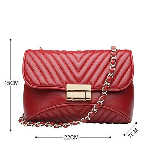 Sacs à sacs 9536 pour femmes sac petits les peau en embrayage red mignon vache téléphone véritable bandoulière main soirée de en cuir de à fqwxTrBf