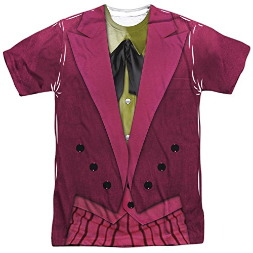 Batman Classic TV- Joker Costume Tee T-Shirt Size