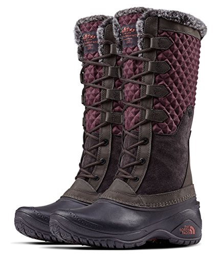 - The North Face Women's Shellista III Tall - Fig & Weathered Black - 8