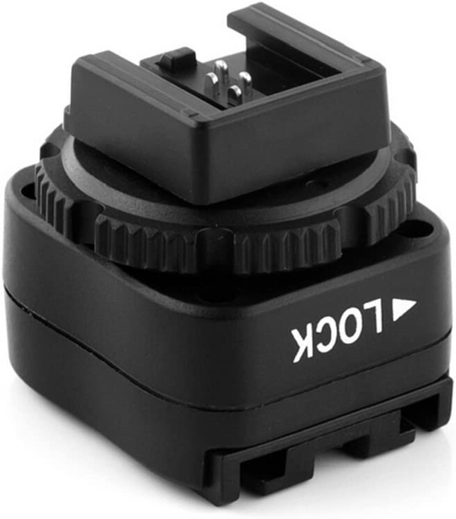 A300 A350 HVL-F56AM HVL-F42AM etc to connect Sony flash HVL-F58AM Pixel TF-323 P-TTL Flash Hot Shoe Adapter with PC Connection Port for Sony A100 HVL-F36AM. A230 A200 A330 A380