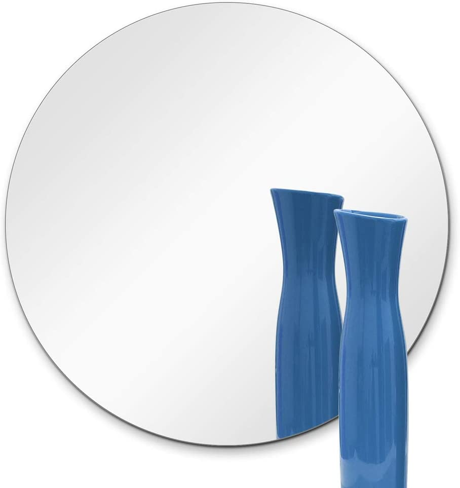 """TroySys Glass Table Mirrors for Wedding and Party Centerpieces, Round, 10"""" L"""