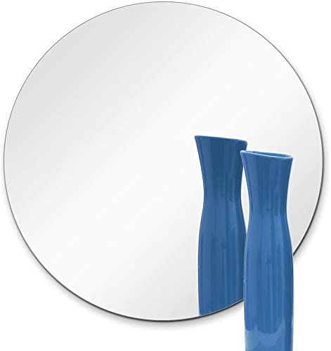 TroySys Set of 10-6 Round Glass Table Mirrors for Wedding and Party Centerpieces