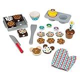 Melissa & Doug Mickey Mouse Clubhouse Sweet Treats Wooden Play Food Set (37 pcs)