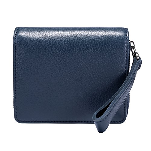 Itslife Women's Leather Multi Functional Compact Wallet Card Holder by ITSLIFE (Image #6)