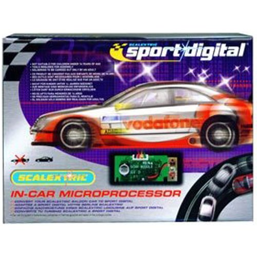 Scalextric C7006 Digital Chip for Non DPR Saloon Cars