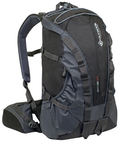 Outdoor Products Skyline Backpack (Black) [並行輸入品]   B078BQSJ4W