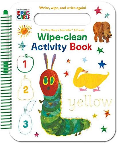 Carle Panda Eric Bear (The World of Eric Carle Wipe-clean Activity Book: Write, Wipe, and Write Again!)