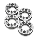 4 Wheel Spacers Adapters For Dodge 5 Lug 5X5.5 (5X139.7 mm) With 9/16 Studs Fits: Dodge Dakota Durango Ram 1500 - 1.5 Inch (38 mm) Thick