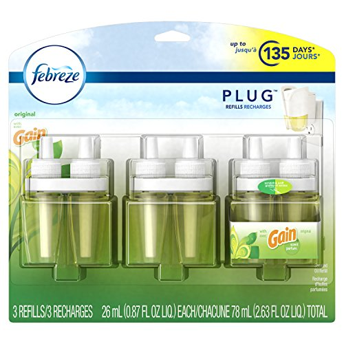 Febreze PLUG Air Freshener Refills with Gain Original (3 Count, 2.63 - Glasses.com For Coupons