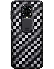 for Xiaomi Redmi Note 9 PRO/Note 9 PRO MAX/Note 9S Case, Nillkin CamShield Pro Series Case with Slide Camera Cover, Slim Stylish Protective case for Redmi Note 9 PRO(Black) (Black)
