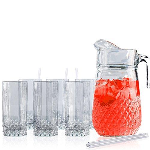 Beautiful Beverage Pitcher Glasses Acrylic product image