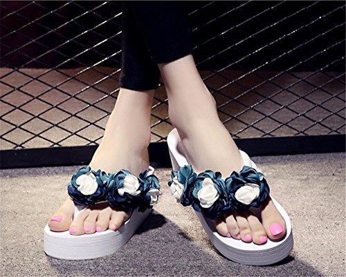 sandali anti scivoloso Donna moda Summer semplice fondo spiaggia c da spesso scarpe piscina trainare YMFIE pizzico YqxXwTWnIw