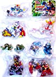 Gashapon SD Gundam Extra stage SD Gundam Force all seven