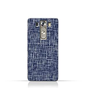 AMC Design LG G3 TPU Silicone Case with Brushed Chambray Pattern