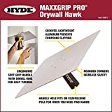 HYDE 09073 Lightweight, Swivel Ring Drywall Hawk, L X 13 in W, Aluminum, Inch