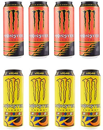Monster : Set of 8 Energy Drinks