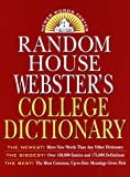 Random House Webster's College Dictionary, RH Disney Staff and Robert B. Costello, 0679455701