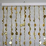3 ft x 6 ft Bubble Beaded Curtain - Room Divider