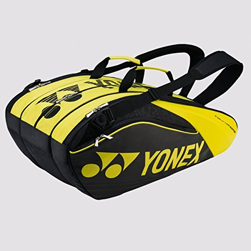 Yonex 2017 Pro Series Badminton Thermal Racket Bag 9629EX Black/Lime