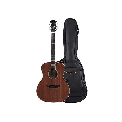 Orangewood 6 String Acoustic Guitar Right, Mahogany OW-DANA-M