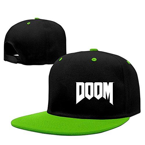 Custom Unisex Doom Logo Casual Baseball Caps Hat - For Review Men Kors Michael
