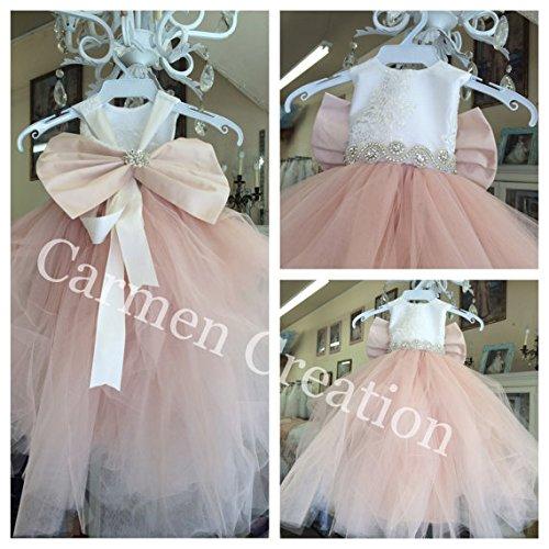 Mini Bride Flower Girl Dress 1001
