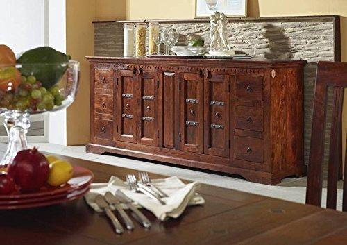 kolonialstil sideboard akazie massiv holz oxford 414 online kaufen. Black Bedroom Furniture Sets. Home Design Ideas