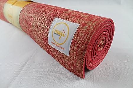 Maji Sports Jute Yoga Mat by Maji Sports: Amazon.es ...
