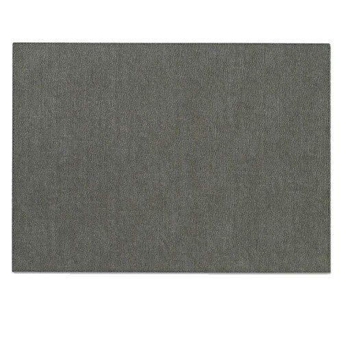 Bodrum EasyCare Presto Charcoal Rectangle Placemats (Tablemats) set/6 by Bodrum