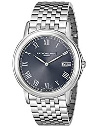 "Raymond Weil Men's 5466-ST-00608 ""Tradition"" Stainless Steel Watch"