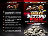 "I am the world-famous ""Sports Betting Whale"" - One of the biggest and winningest sports bettors ever! I have wagered over $500 Million on sports games and ransacked the sportsbooks in broad daylight out of tens of millions of dollars in winning profi..."
