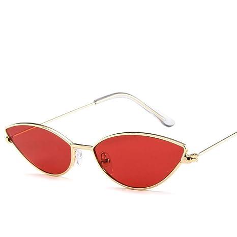 Yangjing-hl Gafas de Sol Lindas del Ojo de Gato de Las ...