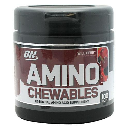 Optimum Nutrition Amino à croquer - Wild Berry 100p