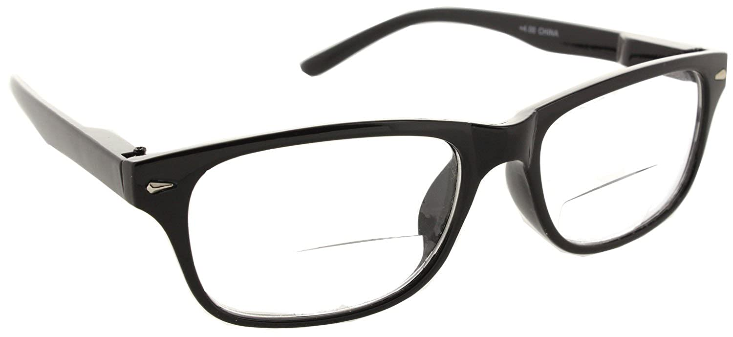 94e62afd3a6 Wayfarer Bifocal Reading Glasses Readers with Spring Hinges for Men and  Women  Amazon.ca  Jewelry