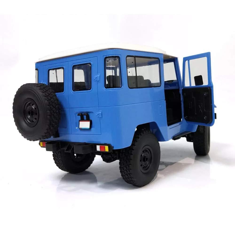 BeesClover Regalo de cumplea/ños para ni/ños WP-L C34 1//16 RTR 4 WD 2.4 G Buggy Crawler Off Road RC Car 2 CH Modelos de veh/ículo con luz de Cabeza de pl/ástico Doble bater/ía