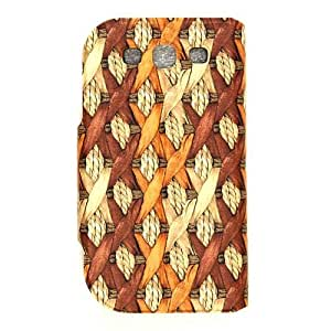 Unlimited Cellular Novelty Diary Case for Samsung Galaxy S3 (Hemp Rope Design Brown)