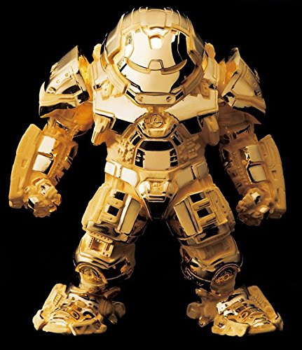 24k Gold Plated Figure - BEAST KINGDOM AVENGERS 2016 SDCC EXCLUSIVE 24K GOLD PLATED IRON MAN HULKBUSTER MARK 44 FIGURE