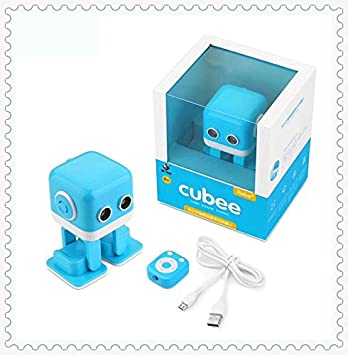 VintageⅢ WL F9 cubee F9 Code Puzzle Motion Music Smart Robot APP /radio IR + Bluetooth Control intelligent smart dancing rc robot Cubee Robot Ultrasonic Following Obstacle Avoidance