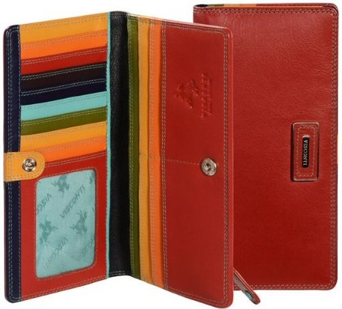visconti-gwen-cb10-womens-large-black-or-red-multi-colored-soft-leather-bifold-wallet-purse-case-red