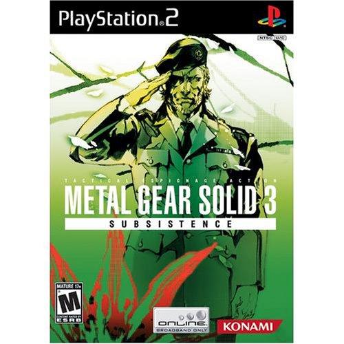 - Metal Gear Solid 3 Subsistence
