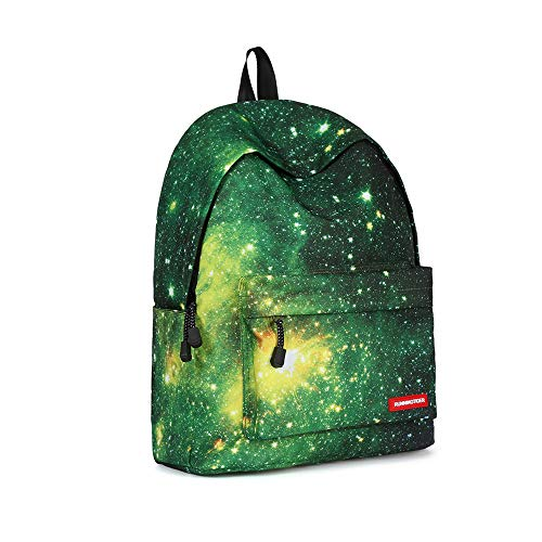 Canvas Backpack, Businda Cute Backpacks School Bookbags Printing Zipper Backpacks Fashion School Bags Casual Canvas Laptop Protective Rucksack for Kids Adults Boys Girls by Businda (Image #1)