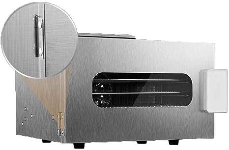 Opinión sobre L.TSA Deshidratador de Alimentos Acero Inoxidable Deshidratador de Alimentos de 6 Capas, Ajuste de Temperatura de 35~70 ° C, máx. 24 h, máquina Secadora de Frutas, máquina deshidratadora