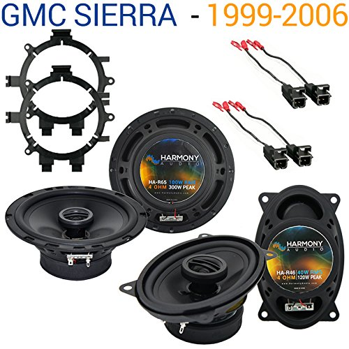 GMC Sierra 1999-2006 Factory Speaker Replacement Harmony R5 R46 Package - Factory Replacement Speaker