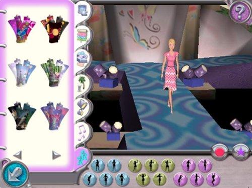 Amazon Com Barbie Fashion Show Pc Video Games