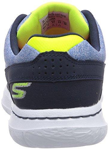 Skechers Go Walk CityUptown - zapatilla deportiva de material sintético mujer azul - Blau (NVLM)