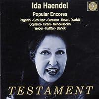 Popular Encores / Bis Célèbres - Paganini, Schubert, Sarasate...