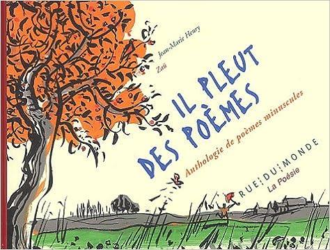 Le coin des lecteurs - Il pleut des poèmes, anthologie de poèmes minuscules