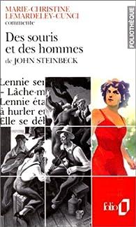 Des souris et des hommes, de John Steinbeck par Marie-Christine Lemardeley-Cunci