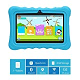 PC Hardware : Cocopa 7 inch Kids Tablet, 1.5Ghz Quad Core, 1GB + 8GB ROM, 7-inch IPS Display, WiFi Bluetooth, 3D AR Zoo and Parental Control Software-iWawa APP, Kids-Proof Case with Handle and Stand